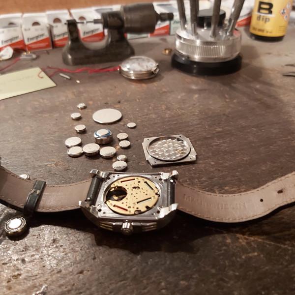 Remplacer piles de montre